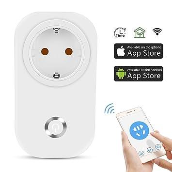 Smart WLAN Steckdose App Fernsteuerung Zeitschaltuhr Schalter 2G// 3G// 4G// WiFi