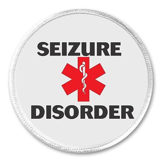 Amazon Seizure Disorder Medical Alert Symbol 3 Sew On Patch