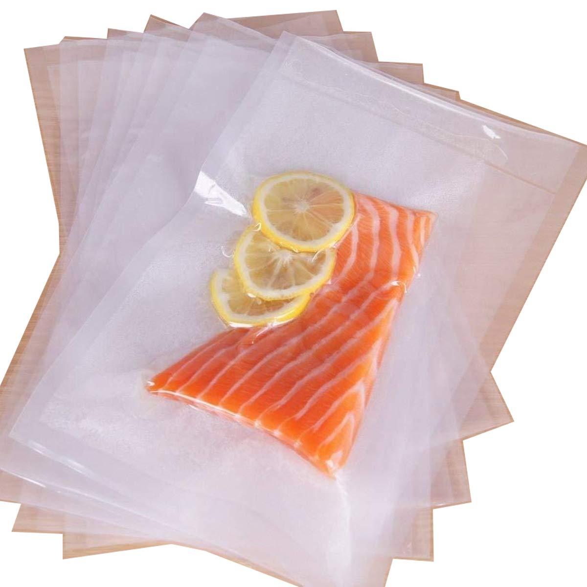 Fineway® set di 100Sous Vide sottovuoto food Bags–riutilizzabili Veg Saver Storage ogni borsa è 20cm x 30cm HSI