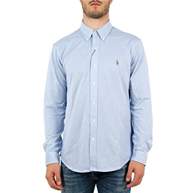 Polo Ralph Lauren Camicia Oxford Uomo Mod. 710686615 XL: Amazon.es ...