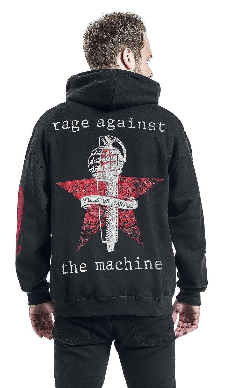 Rage Against The Machine Bulls On Parade Kapuzenjacke schwarz