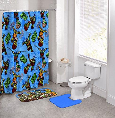 Ninja Turtle Bathroom Set Amazoncom