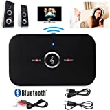 HIFI Bluetooth 4.1 Audio Transmitter & Receiver, Lenuo 2 in1 Wireless Music Adapter for TV / Home Stereo System Headphones Speakers MP3 / MP4 iPhone and More