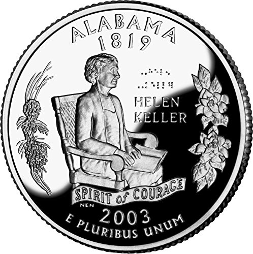 2003 Alabama - P State Quarter Roll (Alabama State Quarter)
