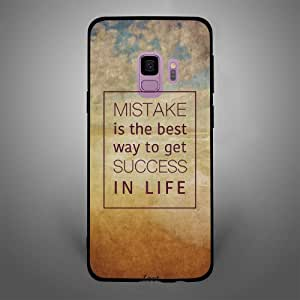 Samsung Galaxy S9 Mistake is the best way to get success in life, Zoot Designer Phone Covers
