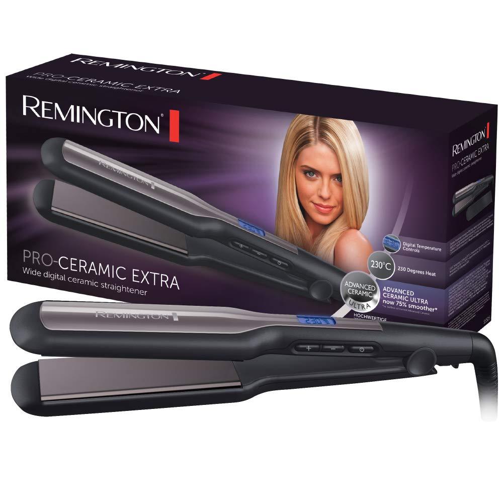 Remington S5525 Pro-Ceramic Piastra Extra Larga, Nero product image