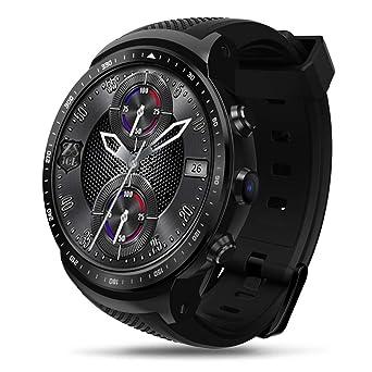 Reloj Inteligente SmartWatch, Redondo con Podómetro de Pantalla ...