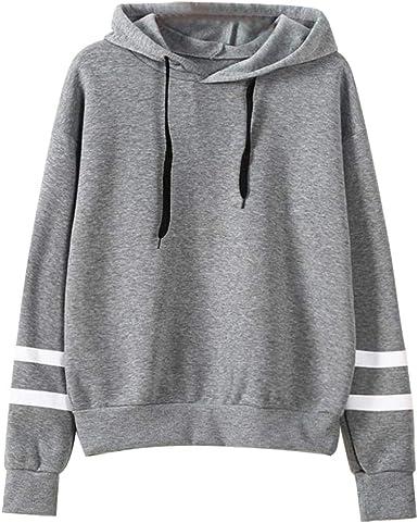 KIKOY Long Sleeve Hoodie Sweatshirt Jumper Pullover Tops Blouse Womens/T-Shirt