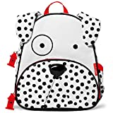 Skip Hop Zoo Toddler Kids Insulated Backpack Dax Dalmatian Boy, 12-inches, White