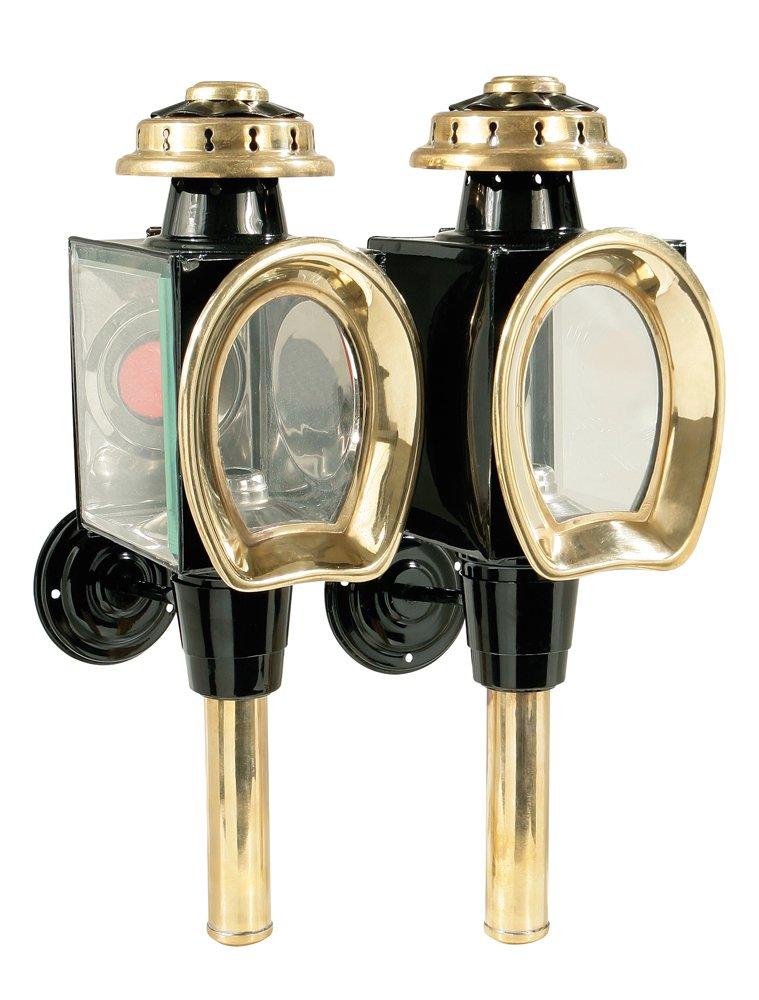 Kutschlampe Modell C, schwarz