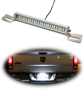 Universal Fit Xenon White 12-SMD Bolt-On LED License Plate Light Lamp For Car