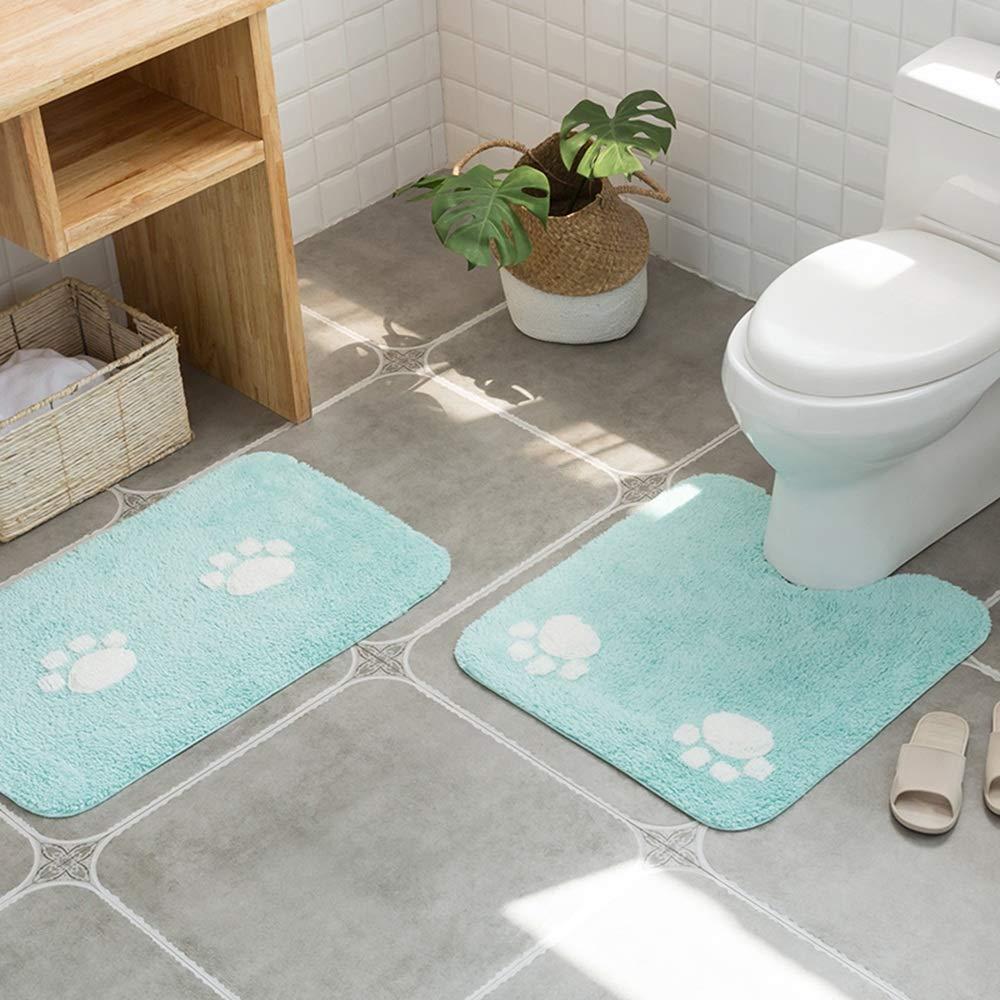 Amazon.com : Xyanzi Floor Mat, Cat Claw Bathroom Absorbent Floor ...