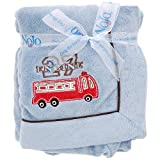 Engine 27 Coral Fleece Blanket w/Applique