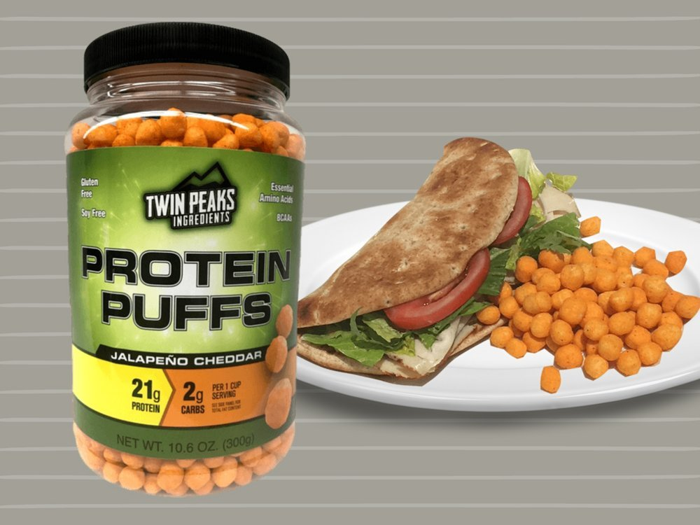 Twin Peaks Ingredients Protein Puffs - Jalapeño Cheddar
