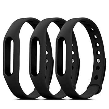 FUNKID Pulsera para Xiaomi 1 Correa de Reloj Elegante Reemplazo de Bandas para Mi1 Nero: Amazon.es: Deportes y aire libre