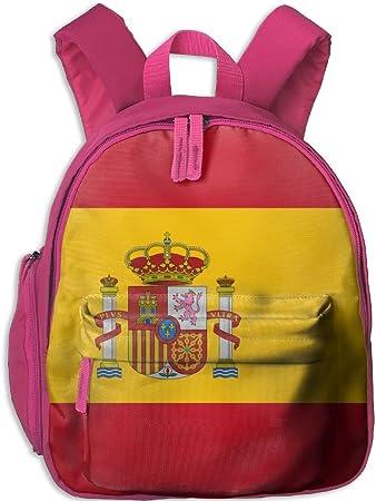 seaEagle Bandera de España Mochila Escolar Niños Mochila Escolar Bolsa para Niño Niña: Amazon.es: Hogar