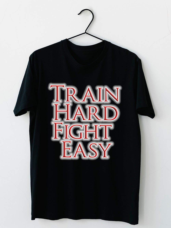 Train Hard Fight Easy Boxing Mma Judo Karate Kung Fu Ju Jitsu Wrestling Etc T Shi Shirts