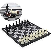 Groß, Reise International Schachbrett Botschafter Set mit Magnetbasis, T Tocas, 32 * 32 * 2cm