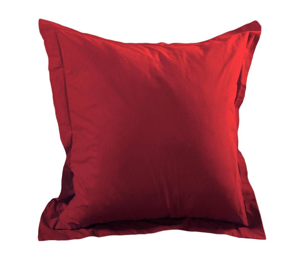 Lovely Casa t14820015Alicia Black Pillowcase Cotton Pillow Case 65x 65cm