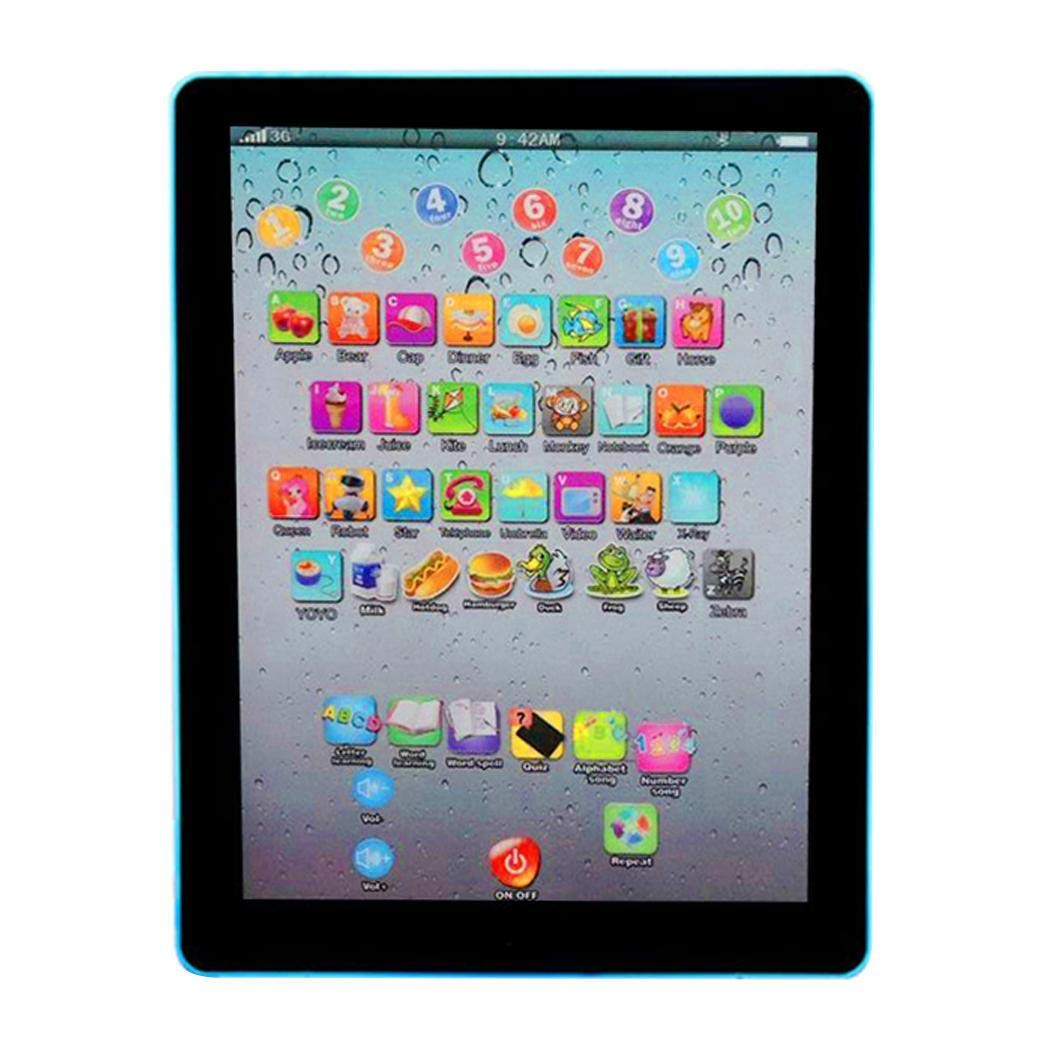 Meflying Kids Pad Toy Pad Computer Tablet Education Learning Education Machine Touch Screen Tab Electronic Systems by Meflying (Image #2)
