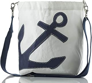 product image for Sea Bags Recycled Sail Cloth Anchor Courier
