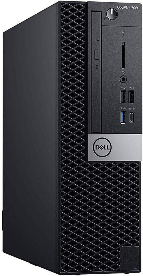 Dell Optiplex 7060 SFF Desktop PC, Intel Core i5-8500 3.0GHz Hexa-Core (6 Core), 8GB DDR4 RAM, 256GB SSD, Windows 10 Pro, Keyboard, Mouse