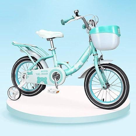 KY Bicicleta Infantil Protectora de Acero Bicicleta con Seguridad ...