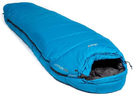 Vango Camping Polyester Latitude 300 Sleeping Bag Imperial Blue