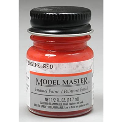 TESTORS CORPORATION Boys 273102 Model Master Chevy Engine Paint, 1/2 oz, Red: Toys & Games