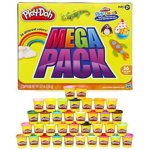 【信頼】 プレイドー 36色デラックスセット Mega Play-Doh Mega 並行輸入品 Compound 並行輸入品 Compound B00BXS0M88, 激安工具のタツマックスメガ:bfe82c02 --- pmod.ru