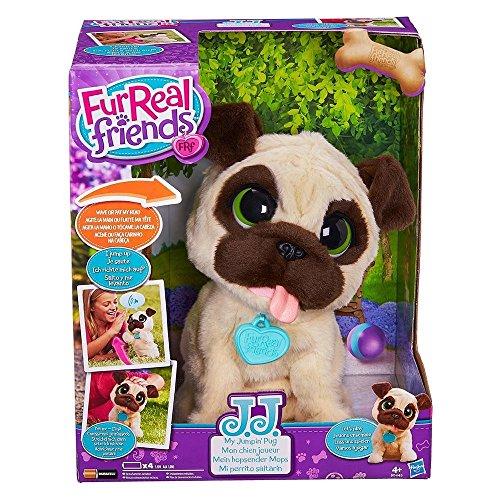 Hasbro FurReal Friends B0449EU4 - JJ, mein hopsender Mops, elektronisches Haustier