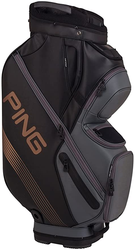 48ab87f2c1 ... new style 75d84 1a9ae PING 2018 PING DLX 164 CART GOLF BAG 04  BLACKGRAPHITECANYON COPPER ...