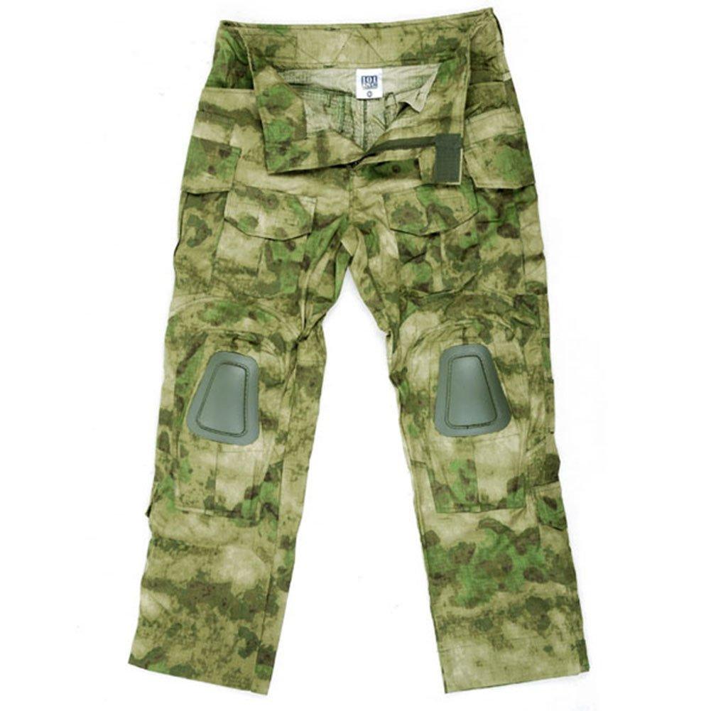 Kommando Hose FG Tarn Bestes Tarnmuster KSK Uniform Airsoft Ripstop Einsatz Tactical US Camo A-Tacs Kampf Protektoren