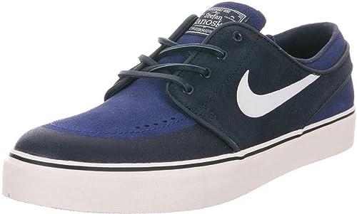 c962441818e81 Nike SB Zoom Stefan Janoski Premium SE (Obsidian Ivory-Deep Royal Blue)  Men s Skate Shoes-14  Amazon.ca  Shoes   Handbags