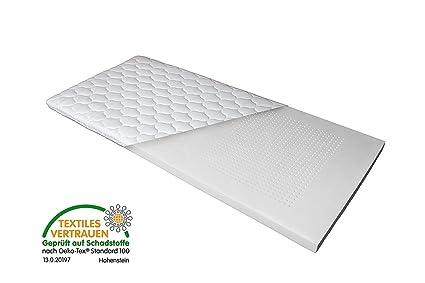 Camas de colchón (7 zonas Luxus visco topper – Colchón (90 x 200 cm