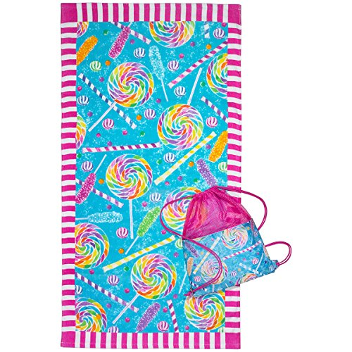 3C4G 23705 Candy Explosion Towel