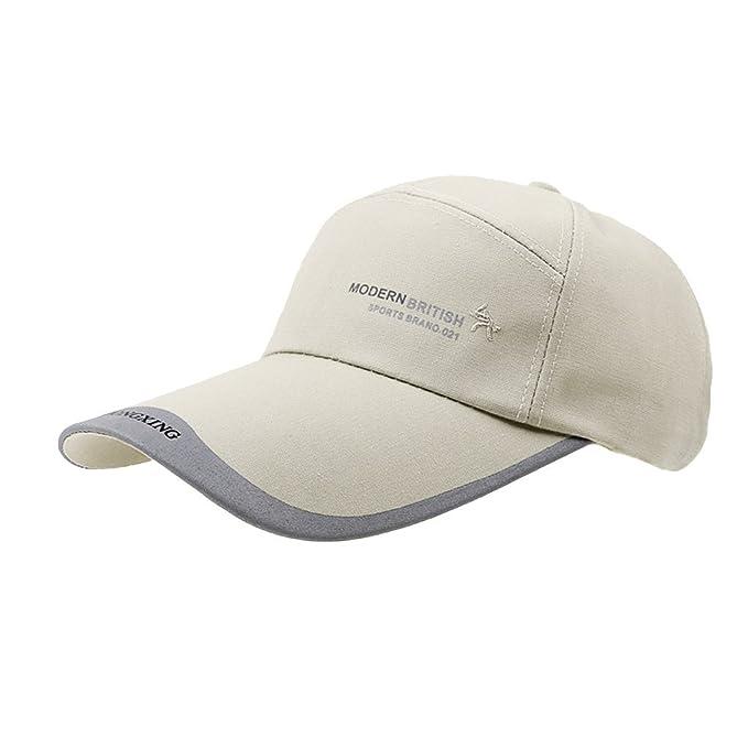 BXT Gorra de algodón de béisbol para hombre, unisex, con