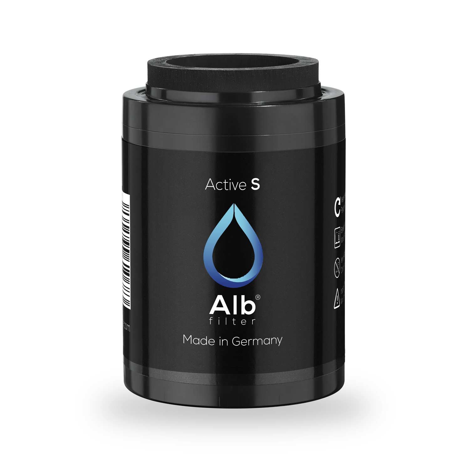 ALB Filter® Active S Drinking Water Filter Replacement Cartridge Reduces contaminants. Odour Free Flavour and Colour In Tap Water Made in Germany