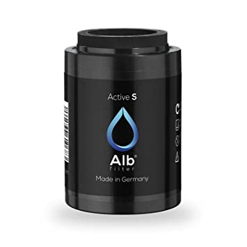 ALB Filter/® Active Drinking Water Filter Reduces Pollutants and Heavy Metals blue