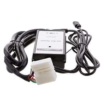 MonkeyJack Auto Car MP Player Radio Aux Input Adapter For Honda - 2004 acura tsx aux input