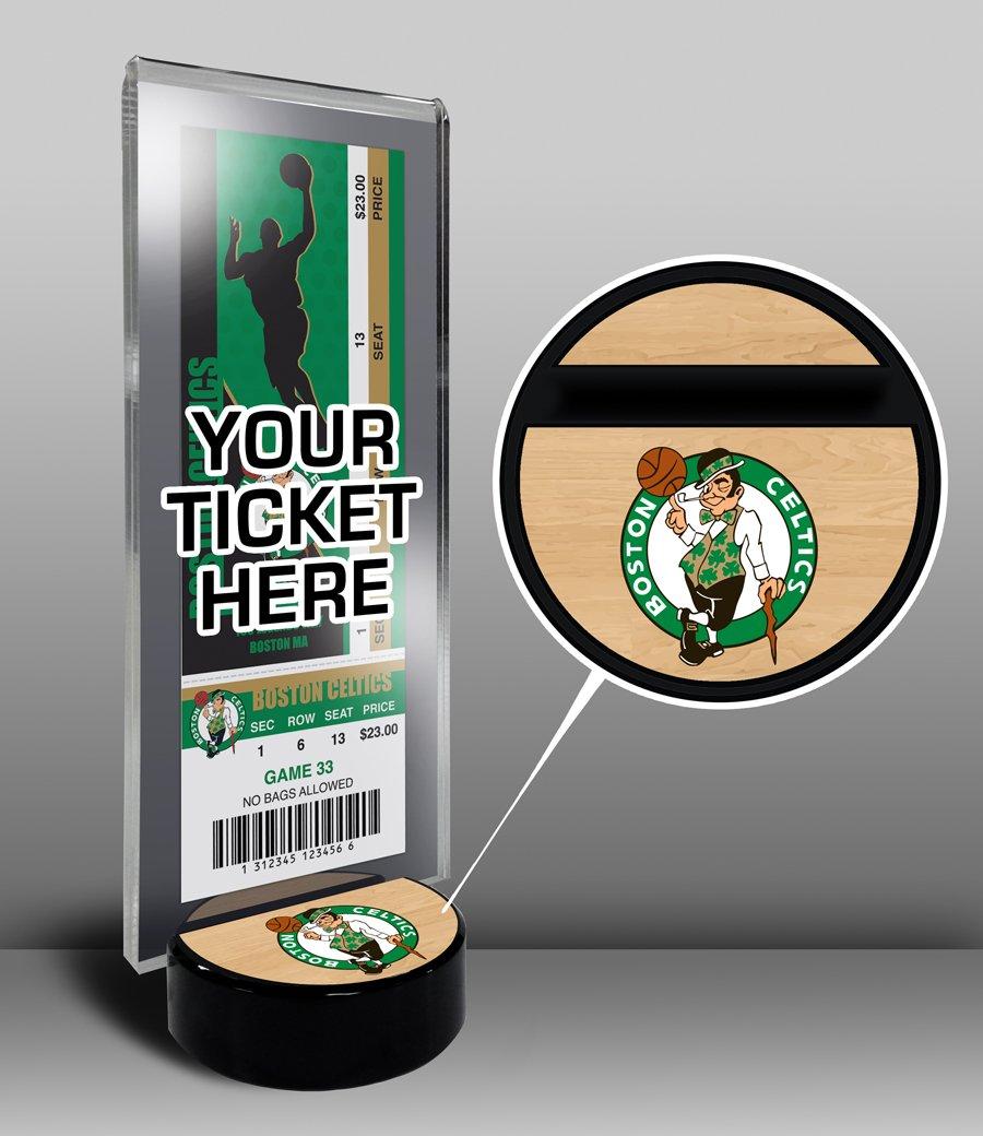 NBA Boston Celtics Ticket Display Stand, One Size, Multicolored