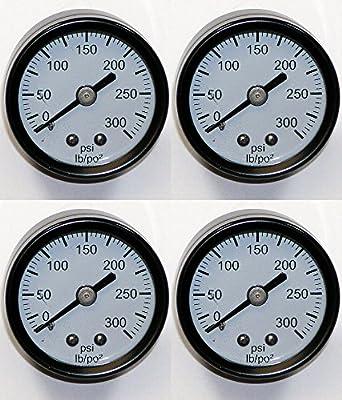 DeWalt D55141 Air Compressor (4 Pack) Replacement Pressure Gauge # A17166-4pk
