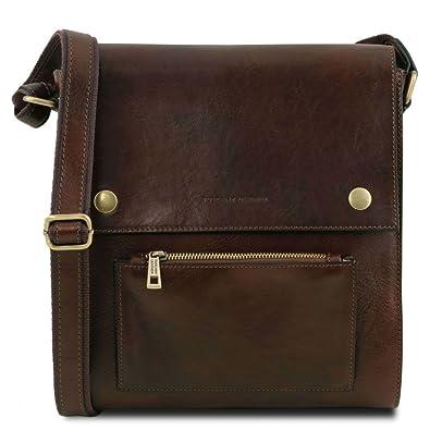 Morgan - Sac bandoulière en cuir - Cognac Tuscany Leather fN99h8dr