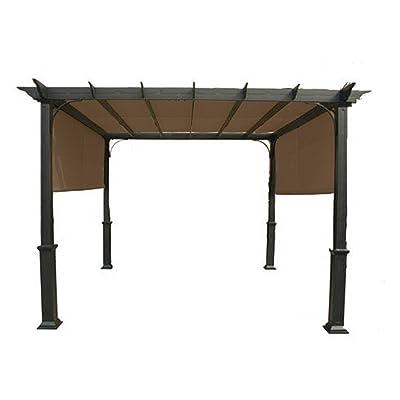 Garden Winds Replacement Canopy for GT 10 Ft Pergola - SUNBRELLA: Garden & Outdoor