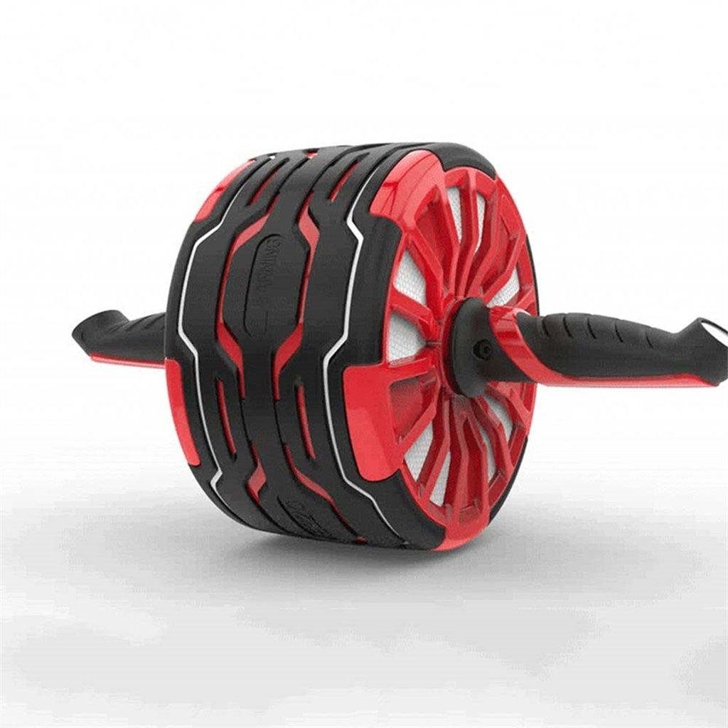 フィットネスホイール自動的にリバウンドミュート筋肉運動腹部ホイールエクササイズクランチホームジムトレーニングエクササイズ機器   B07P7LB3QX