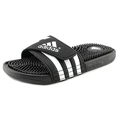 dcac3fad6179 adidas Adissage Mens Slide 5 Black-White❗️Ships directly from Adidas❗️