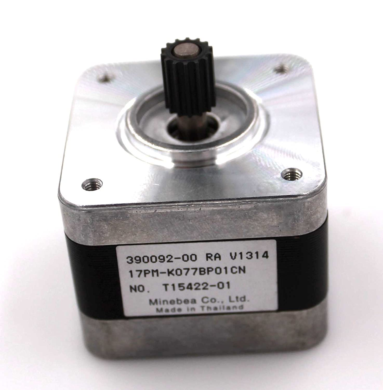 NEMA17 Single Shaft 0.3A//40oz-in Stepper Motor with Pulley Lot of 10