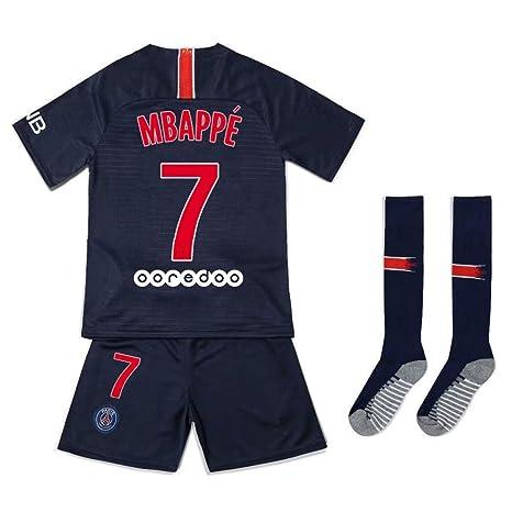 LCL Camiseta Jersey Futbol, Paris Saint Germain PSG,#7 MBAPPE ...