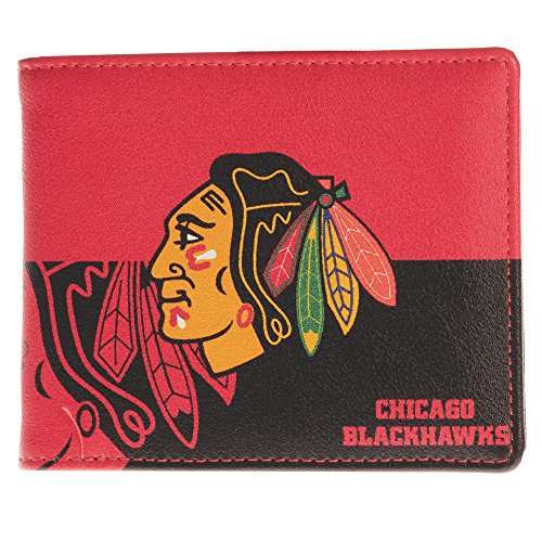 (NHL Chicago Blackhawks Bi-fold Wallet)