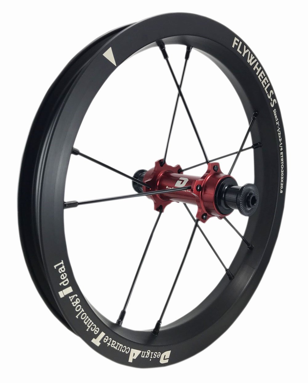 DATI 12インチ S7X-W Alloy レース レベル. 低抵抗.スムーズ.バランスバイク Kids Balance Bike Bicycle Super light 子供自転車ホイール B07DKFS64N BIXBI PUKY: 90*10MM|赤 赤 BIXBI PUKY: 90*10MM